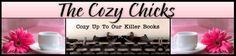 The Cozy Chicks Blog features posts from mystery authors Ellery Adams (Jennifer Stanley), Deb Baker (Hannah Reed), Lorna Barrett (Lorraine Bartlett & L.L. Bartlett), Kate Collins, Maggie Sefton, Leann Sweeney, and Heather Webber (Heather Blake.)