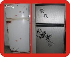 vinil adesivo em geladeira - Pesquisa Google