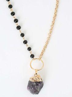 Altar'd State Dark Night Necklace