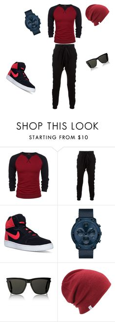 """""""#just #for #man"""" by alem96 ❤ liked on Polyvore featuring Blood Brother, NIKE, Movado, Yves Saint Laurent, Coal, men's fashion and menswear"""
