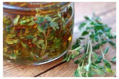 Beautiful Thyme Infused Honey - Great natural remedy for coughs and even delicious in tea (and super easy)! Medicine Garden, Herbal Medicine, Natural Medicine, Natural Cough Remedies, Herbal Remedies, Oregano Oil Benefits, Drops Recipe, Health Heal, Allergy Free Recipes