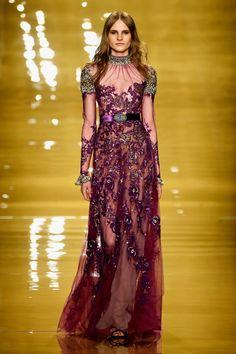 Reem Acra - Runway - Mercedes-Benz Fashion Week Fall