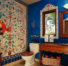 Quirky Bohemian Bathroom