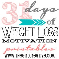 31 Days of Weight Loss Motivation printables. After 31 days you will have 31 cards that you can put on a metal ring and keep with you when you need some encouragement. Click the image to find the TV advertised way to lose weight fast now Weight Loss Journal, Weight Loss Tips, Lose Weight, Gewichtsverlust Motivation, Weight Loss Motivation, Zumba, Fitness Diet, Health Fitness, Xls Medical