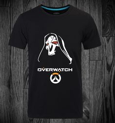 Overwatch Reaper Shirts 3XL Black T-shirts