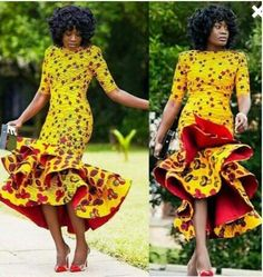African Clothing for women African print dress Ankara dress prom dress African Summer Dress African wedding dress African Bridesmaid African Party Dresses, African Wedding Dress, African Print Dresses, African Fashion Dresses, Ankara Fashion, African Prints, African Outfits, African Weddings, Dress Wedding