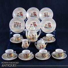 German Children's Tea Set - Complete 23-piece Set - 1910