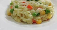 Talianske krémové rizoto so zeleninou. Skvelý recept za 30 minút z dielne kuchyne portálu Ženy v meste určite vyskúšajte. Naše rizoto chutí úžasne. Risotto, Potato Salad, Grains, Potatoes, Ethnic Recipes, Food, Potato, Essen, Meals