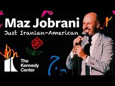 Comedian Maz Jobrani sits down with Washington Post reporter Jason Rezaian for a kebab dinner in Washington D. during his recent visit to The Kennedy Cente. Maz Jobrani, Iranian American, Concert Hall, Comedians, The Originals, Digital, Youtube, Stage, Youtubers