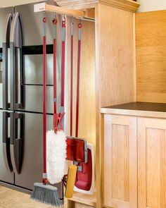 """One pantry organizer with 5 hooks.* All mounting hardware and bracket includedDimensionsLength: 22-1/2""""Width:"""