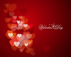 valentine heart animations gif | Happy Valentine's Day with Lights and Hearts in Background | Free ...