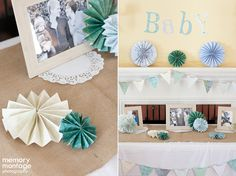 I decorated my sister-in-laws baby shower!!
