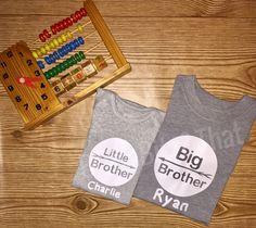 Facebook.com/BrittsBitz Baby Bodysuit Brothers Onesie Custom