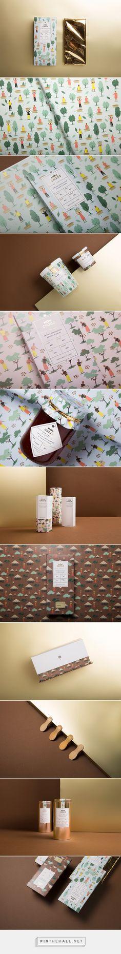 Mon Choco Chocolate packaging design by Futura (Mexico) - http://www.packagingoftheworld.com/2016/05/mon-choco.html