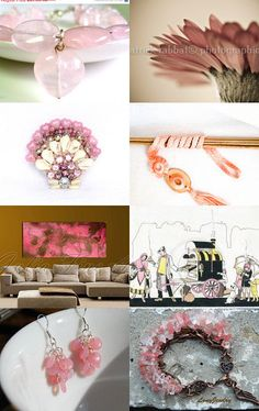 Pink by RiGaSisters by RiGaSisters on Etsy--Pinned with TreasuryPin.com