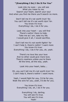 Bryan Adams, this is me and my husband's song. this has been our song since we started dating and our 20 year wedding anniversary is coming up next month. Bryan Adams, Great Song Lyrics, Song Lyric Quotes, Music Quotes, Smile Quotes, 80s Songs, Music Songs, Uplifting Songs, Song Words