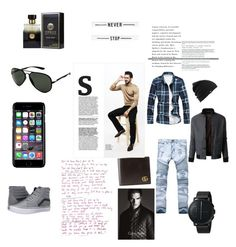 """""""😊for men to get a bit inspired"""" by sandrine-barhins on Polyvore featuring PENHALIGON'S, Burton, Ray-Ban, Off-White, Vans, Gucci, LE3NO, Skagen, Calvin Klein Collection and men's fashion"""