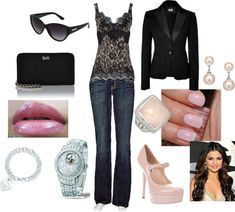 Dolce and Gabbana and Pink!, created by betsyayala on Polyvore