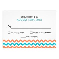ShoppingModern Wedding Chevron Zigzag RSVP Cardstoday price drop and special promotion. Get The best buy