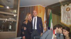 Marco Eugenio Di Giandomenico and Marisela Morales  (General consul of Mexico in Milan) (Milan, May 12, 2017)