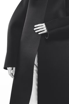 Sleek Black Jacket - understated style; minimalist fashion // Peter Do