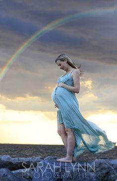 Rainbow baby.