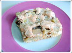 Rhabarberkuchen vom Blech mit Walnussbaiser - glutenfrei