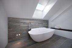 Villa S - BJARNHOFF A/S  #Architecture #Interior #Modern #Bathtub #Design Scoop By Falper