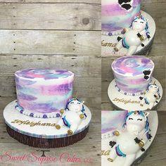 Fat Unicorn Cake The unicorn was very hungry... #sweetsuprisecakes #unicornparty #unicorn #kidsparty