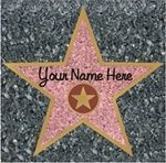 Have your name on the Hollywood walk of fame with our star peel n' place sticker. Our star peel n' place sticker is great for your awards night or Hollywood themed party. Size: X 1 per package Hollywood Party, Hollywood Walk Of Fame, Hollywood Stars, Hollywood Themed Parties, Hollywood Room, Hollywood Boulevard, Hollywood Gossip, Vintage Hollywood, Movie Themes