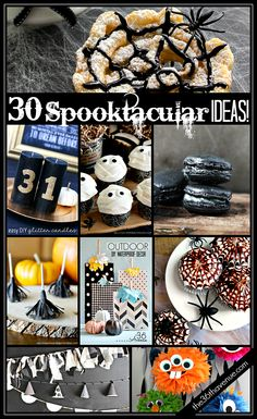 30 Spooktacular Ideas for Halloween!!! www.the36thavenue.com