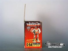 Transformers Titans retour Blaster Manuel Bio Carte
