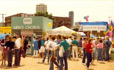 Booths at Pride, circa 1990 | 1825-10-5