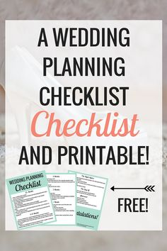 The Wedding Planning Checklist to Make Your Life Easier (Free Printable) - Very Erin