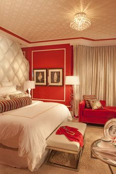 Hollywood Regency- Turnberry Ocean Colony Sunny Isles, Fl eclectic-bedroom