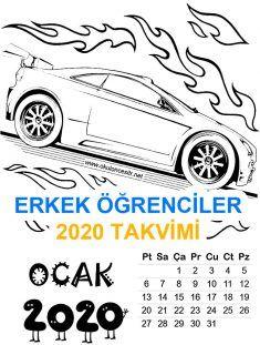 2020 Erkek Takvim Ka Asd, Modern, Trendy Tree