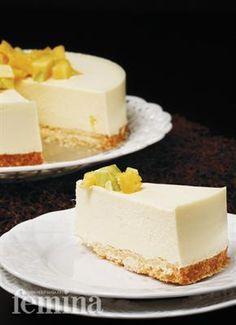 Avocado Pineapple Cheesecake