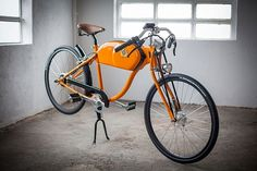 Vintage-Inspired E-Bike Custom-Made in Barcelona