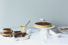 Tarte chocolat caramel - Carnets parisiens