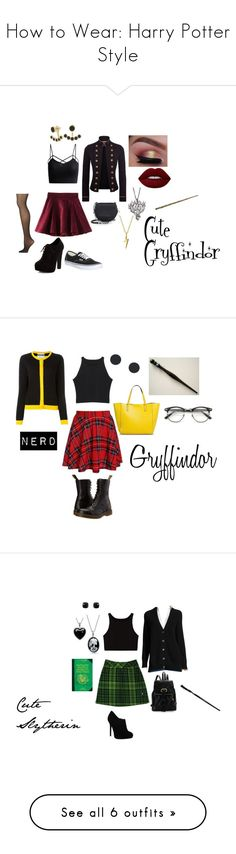 """""""How to Wear: Harry Potter Style"""" by mxpx4ever ❤ liked on Polyvore featuring WithChic, Denim & Supply by Ralph Lauren, Lime Crime, rag & bone, Vans, Calvin Klein, New Look, Agrigento Designs, Bling Jewelry and Rebecca Minkoff"""