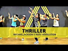 Thriller - Michael Jackson Zumba with Mallory HotMess Zumba Workout Videos, Zumba Videos, Line Dance, Yoga Dance, Cardio Dance, Dance Workouts, Dance Moves, Refit Revolution, Dance Fitness