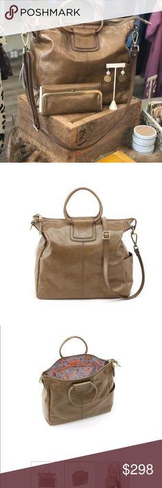 5434ce98af88 NWT HOBO Mink Shelia HOBO s iconic Sheila carryall bag
