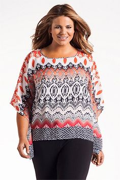 Women's Tops - Capture Woman Boxy Top - EziBuy New Zealand. This style definitely has to be patterned. Boxy Top, Women's Tops, Fashion Online, Women Wear, Clothes For Women, Woman, Blouse, Pattern, How To Wear