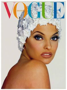 Linda Evangelista by Francesco Scavullo 1992