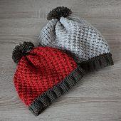 Ravelry: Basket Diagonal Hat pattern by Julia Noskova