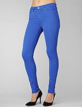 Ok, this updated cobalty blue has finally won me over. PAIG-40001667 Hoxton Zip Ultra Skinny - Paige Blue, paigeusa.com #paige #jeans