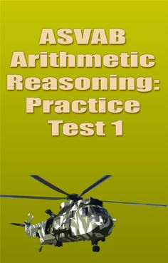 52 Best Asvab Images Military, Education, Learning ASVAB Arithmetic Reasoning Word Problems Asvab Arithmetic Reasoning Practice Test 1 (updated 2018)