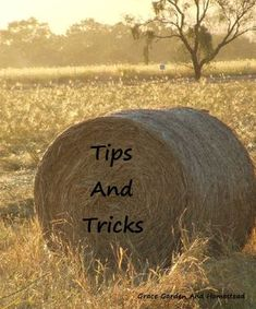 Feeding round bales by hand. Yes, there really are some tricks to make it easier.