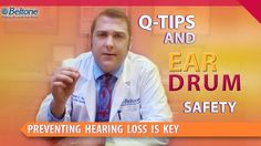 "http://beltonehearingaid.com This video answers the question ""Are Q Tips safe to use in my ears??"" and is part of the original playlist ""Preventing Hearin"