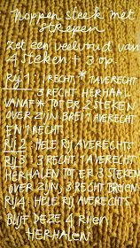 ingthings: Breilesje Crochet Stitches, Knitting Patterns, How To Make, Knit Patterns, Knitting Stitch Patterns, Crochet Tutorials, Loom Knitting Patterns, Cross Stitches